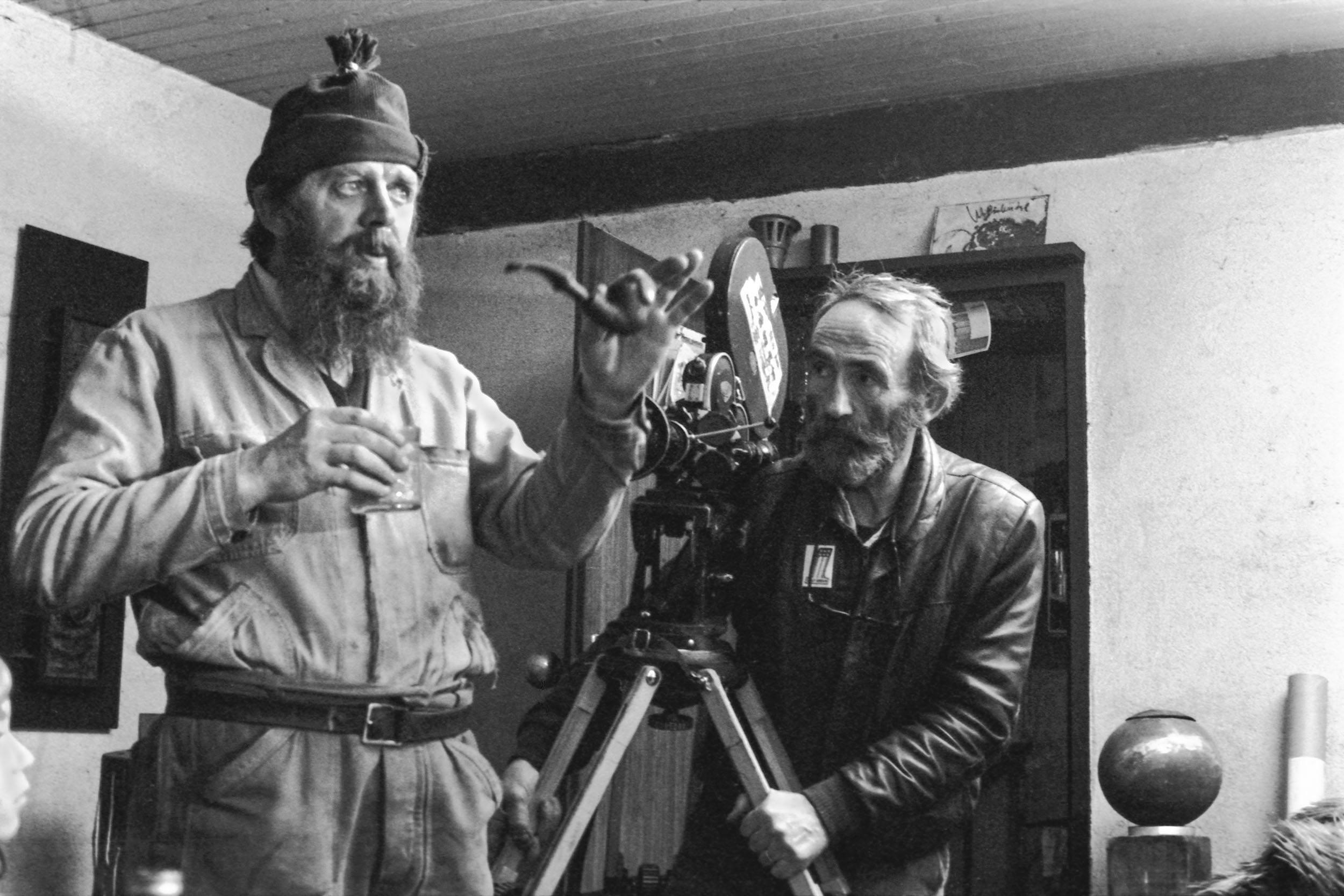 Roger Monney et Jacques Thévoz, 1979 | ELIANE LAUBSCHER