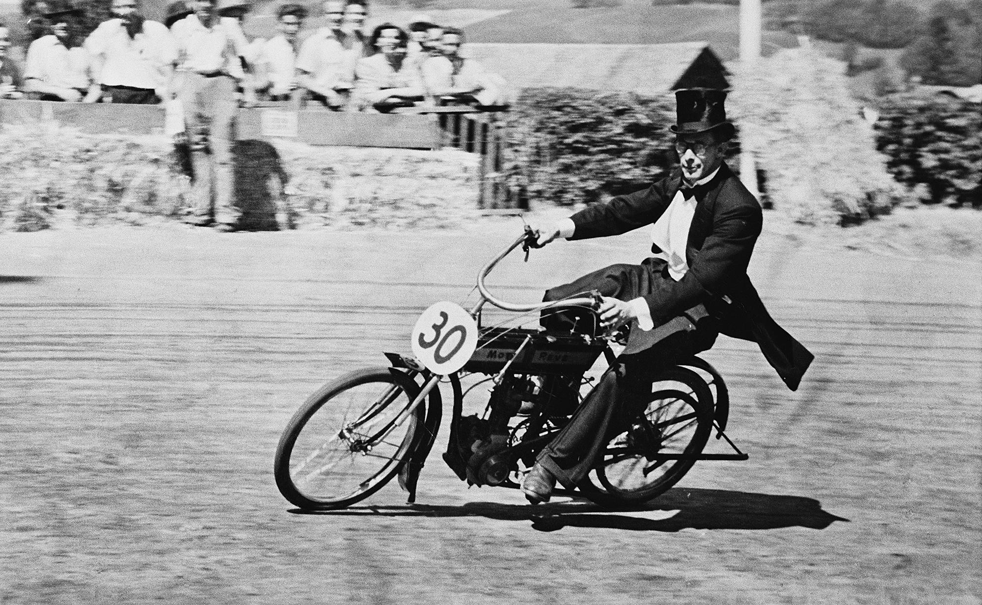 Course de vélomoteurs, 1953