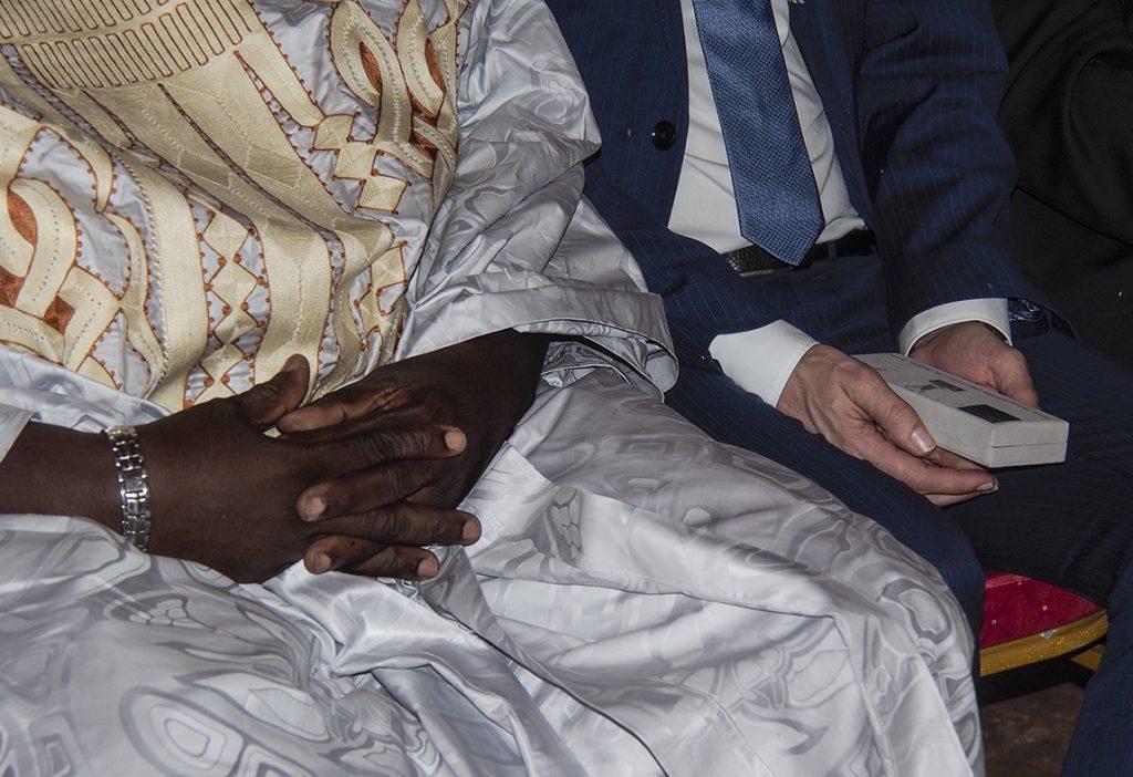 La cérémonie officielle de transmission des images numérisées du FPCJT, Musée National des Arts et de la Culture de Yaoundé , 17 mars 2017