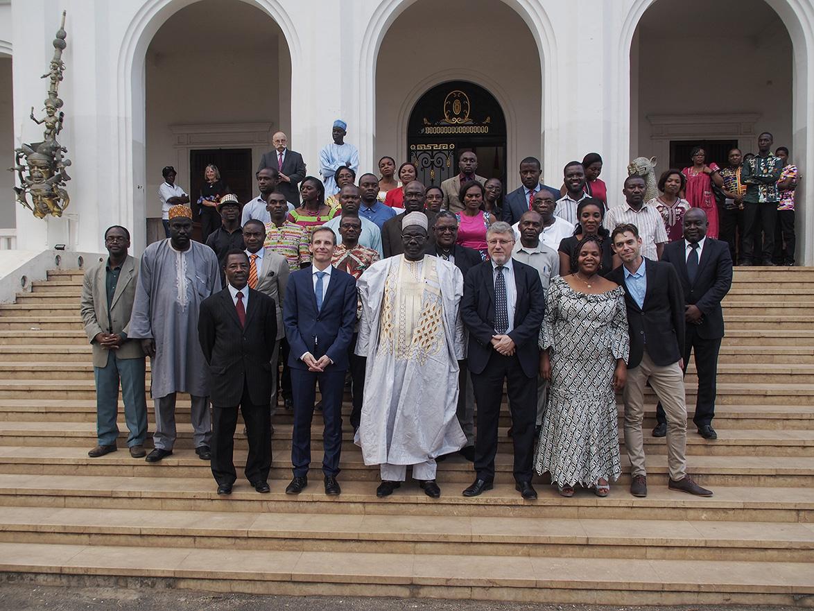 Cérémonie officielle de transmission des images numérisées du FPCJT a eu lieu au Musée National des Arts et de la Culture de Yaoundé le 17 mars 2017