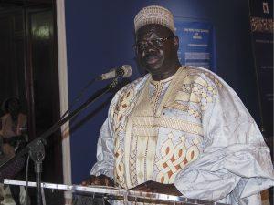Mouhtar Ousmane Mey, Secrétaire Général du Ministère des Arts et de la Culture du Cameroun